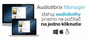 Manager - Sťahuj audioknihy na jedno kliknutie